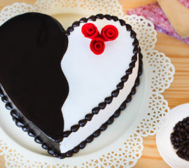 Choco Vanilla cake for you