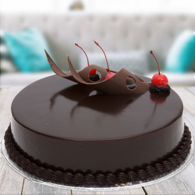 chocolate truffle cake for you